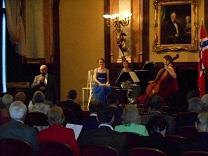 Frühlingskonzert im Festsaal des Palais Eschenbach