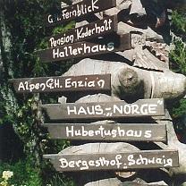 Haus Norge Schild